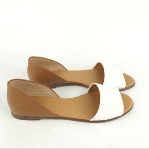 NEW J. Crew Factory 9.5 Morgan colorblock sandal